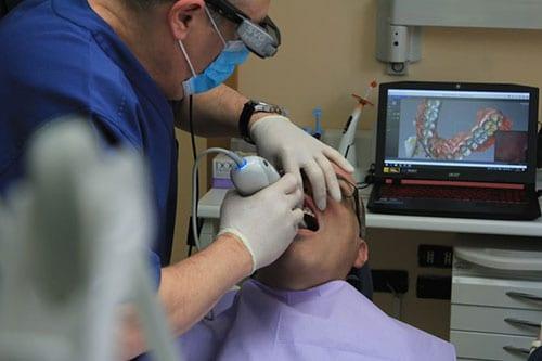 Dentist vs. braces