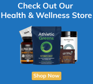 Check Out Our Health & Wellness Shop